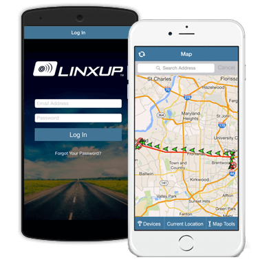 GPS tracking app for iOS and Android